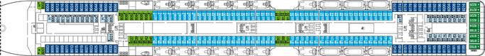 MSC Magnifica Deck 8 | © MSC Kreuzfahrten