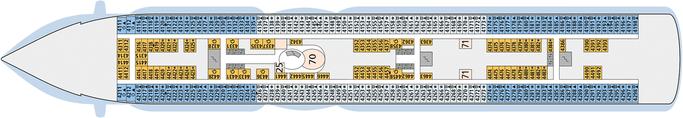 AIDAprima Deck 4