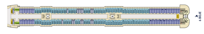 Mein Schiff 1 Deck 6 | © TUI Cruises