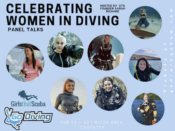 GIRLS THAT SCUBA GO DIVING SHOW