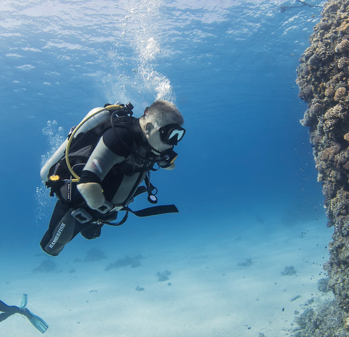 scuba diving with a disability