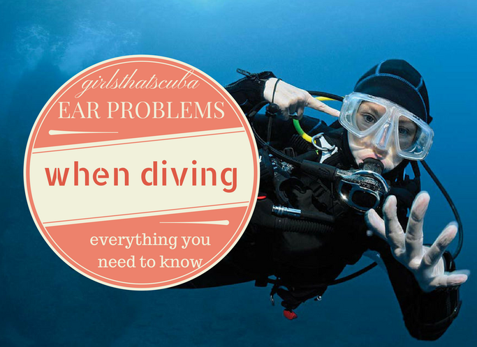 my ears hurt when I dive