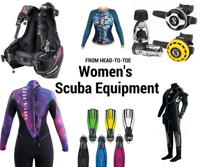 best female scuba gear