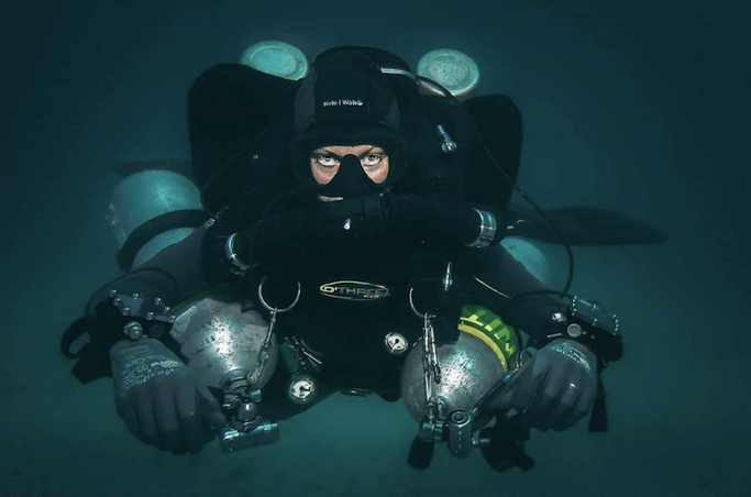 technical diving | Girls that Scuba