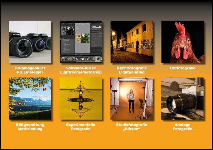 Fotokurse, Fotokurs Allgaeu, Fototraining