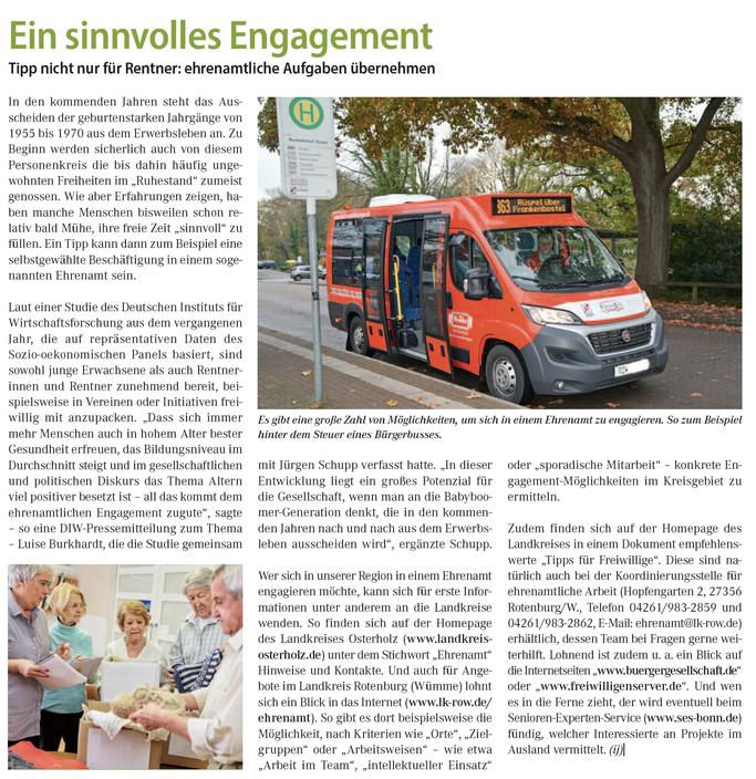 Ehrenamt Infos ROW und OHZ