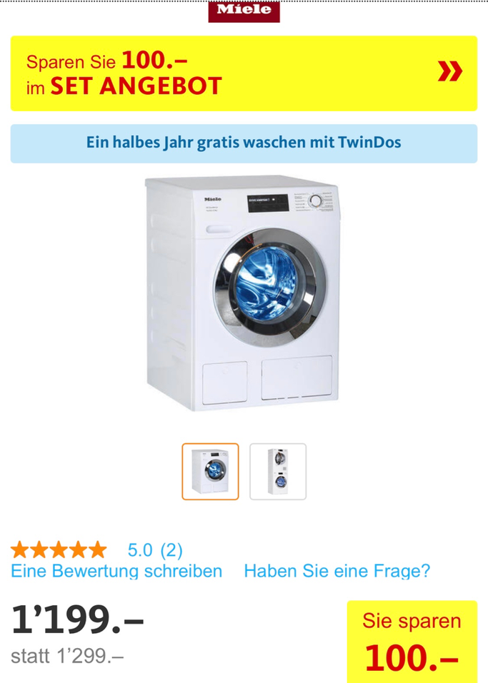 Ob diese Waschmaschine bei uns einzieht?