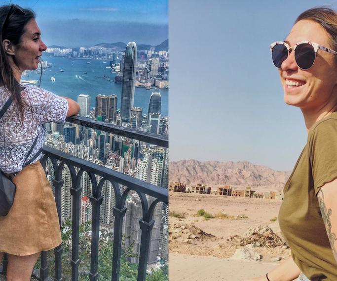 travel blogger in Egypt
