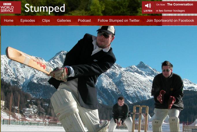 Stumped, featuring Cricket on Ice (27.2.2016)