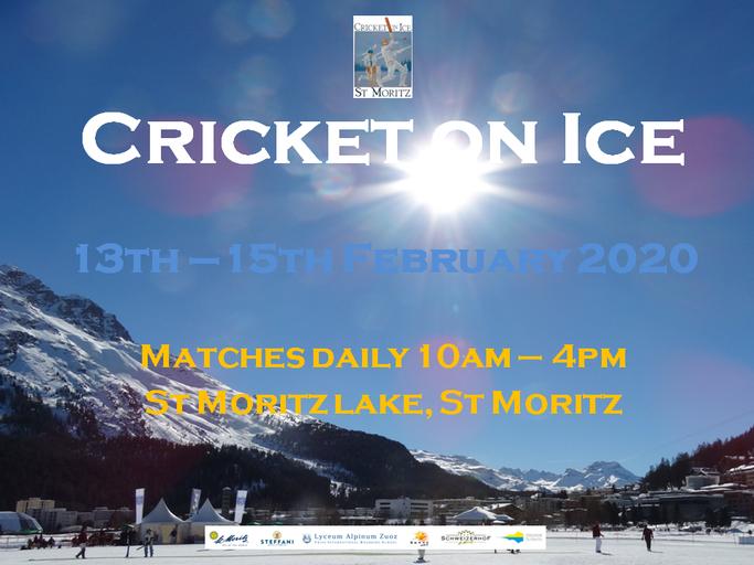 Cricket on Ice (St Moritz, 13-15.2.2020)