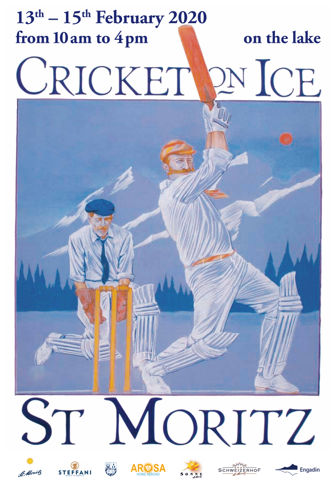 Cricket on Ice posters 2020