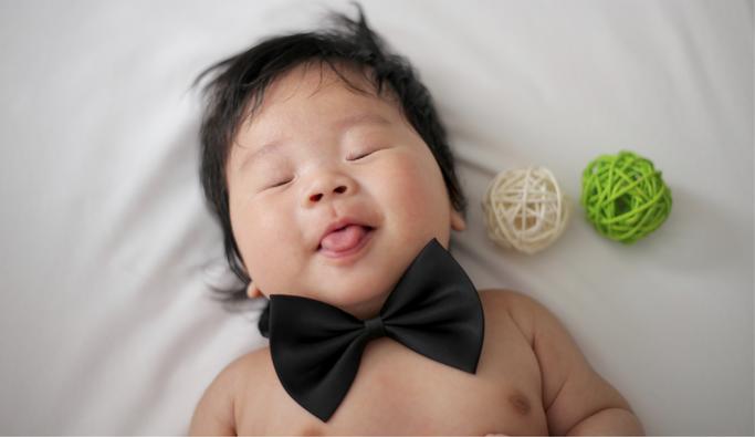 bambino che non dorme