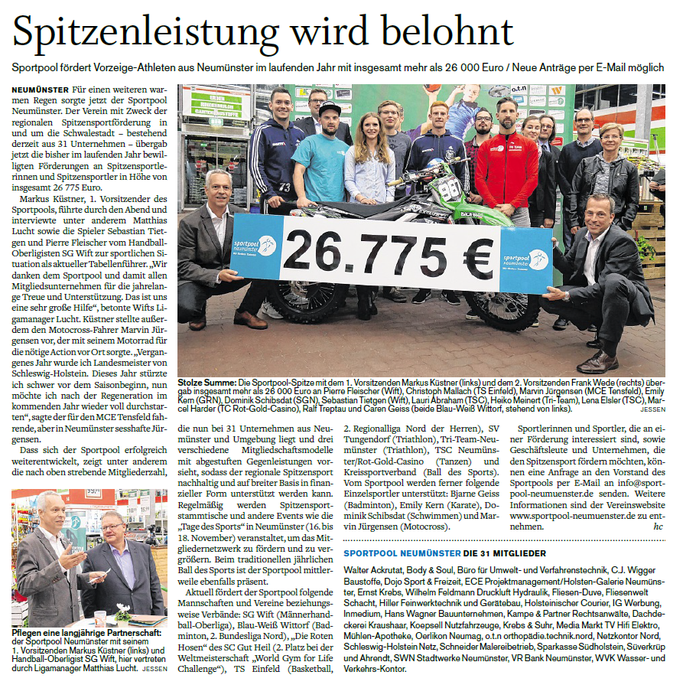 Holsteinischer Courier vom 12.10.2017