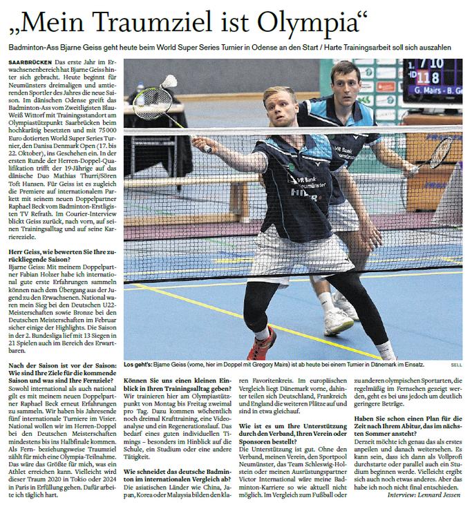 Holsteinischer Courier vom 17.10.2017