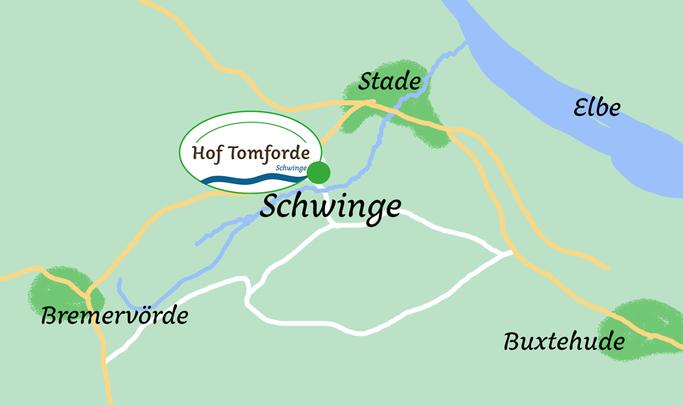 Hof Tomforde Lage Schwinge Fredenbeck | Heuverkauf | Stellplatzvermietung | Monteurwohnung | Lohnarbeiten