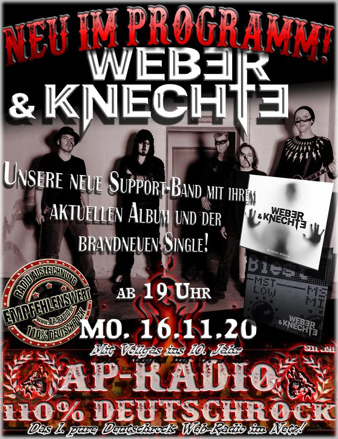 Werber & Knechte bei AP-Radio - 110% Deutschrock