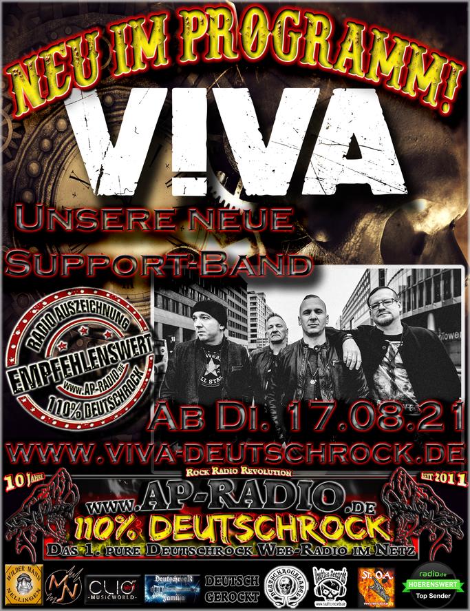 V!va - 100% Deutschrock bei AP-Radio - 110% Deutschrock