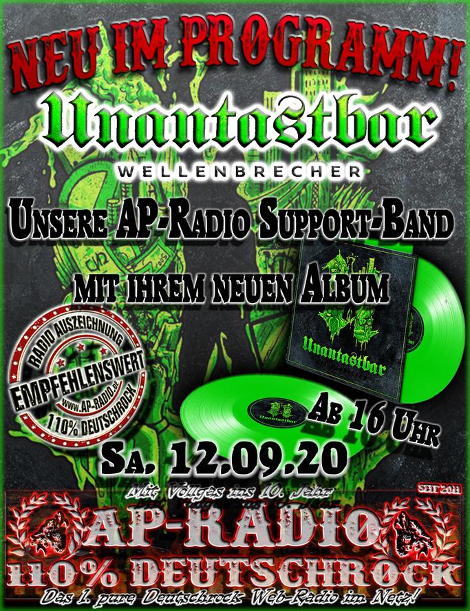 Unantastbar - Wellenbrecher bei AP-Radio - 110% Deutschrock