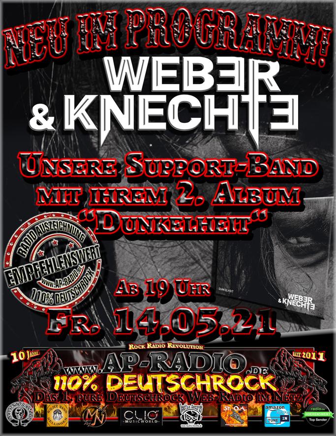 Weber & Knechte bei AP-Radio - 110% Deutschrock