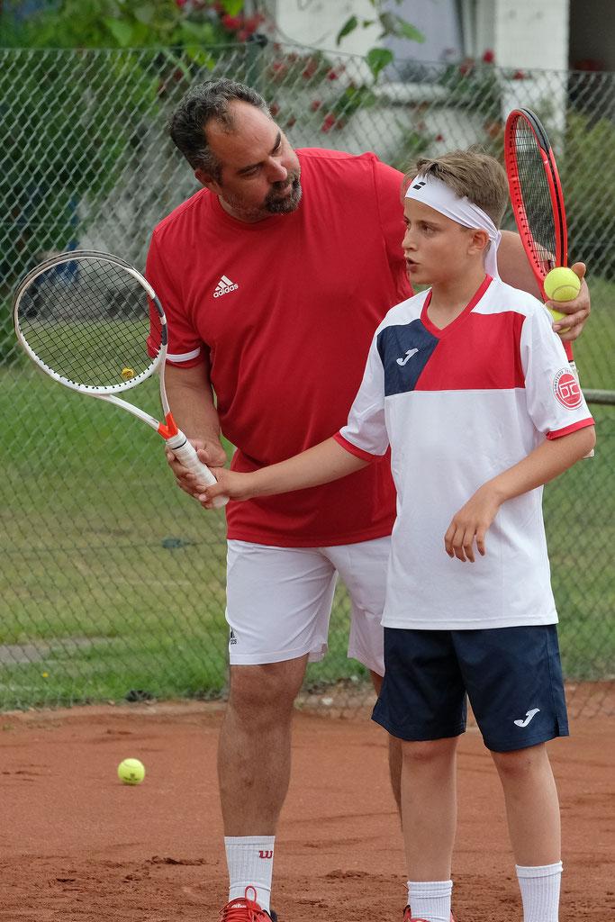 Tennis, Kinder, Dorsten, TDB, DirkBuers