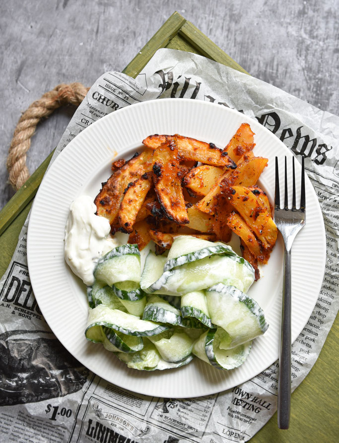 Gnocchi Salat mit Pesto Dressing, Thermomix