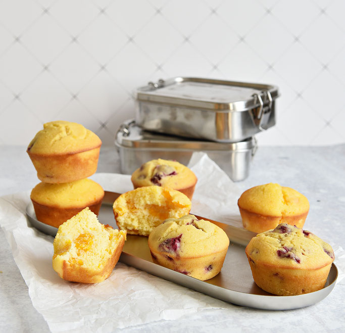 Grieß Joghurt Muffins