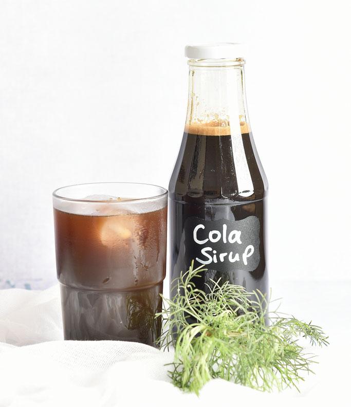 Cola Kraut Sirup selbst gemacht