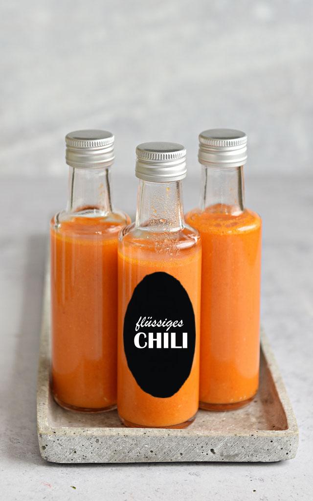 flüssiges Chili selbst gemacht, Thermomix