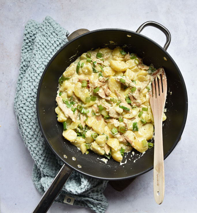Kartoffelpfanne Honig Senf