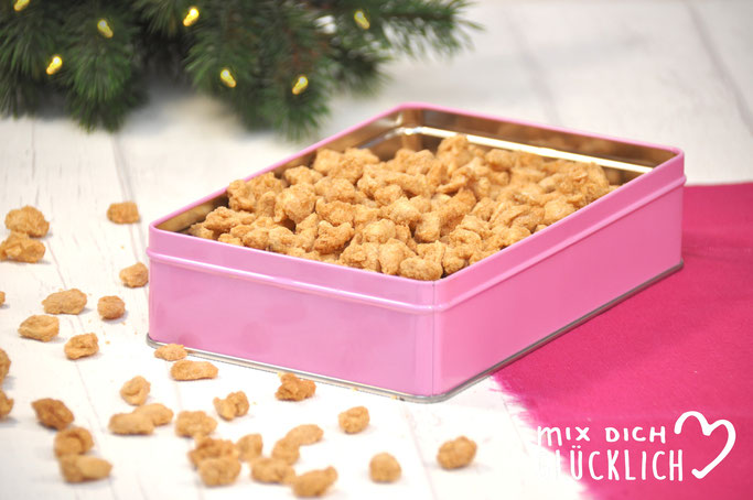 Gebrannte Erdnüsse aus dem Thermomix auch als Geschenk zu Weihnachten möglich