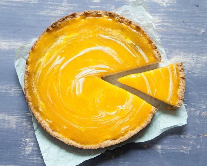 Käsekuchen mit Solero-Topping, fruchtig, sommerlich, vegan möglich