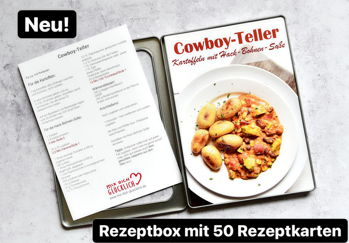 Rezept Box mix dich glücklich, Thermomix, 50 Rezepte zu Hauptgerichten