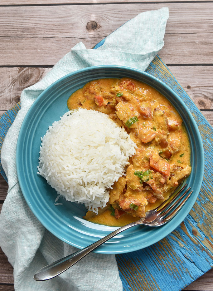 Joghurt Curry indisch