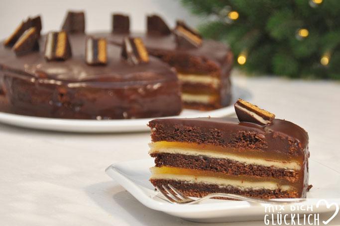 Dominostein-Torte mit selbst gemachtem Marzipan aus dem Thermomix vegan möglich der Knaller zur Weihnachtszeit auf dem Kuchenbuffet