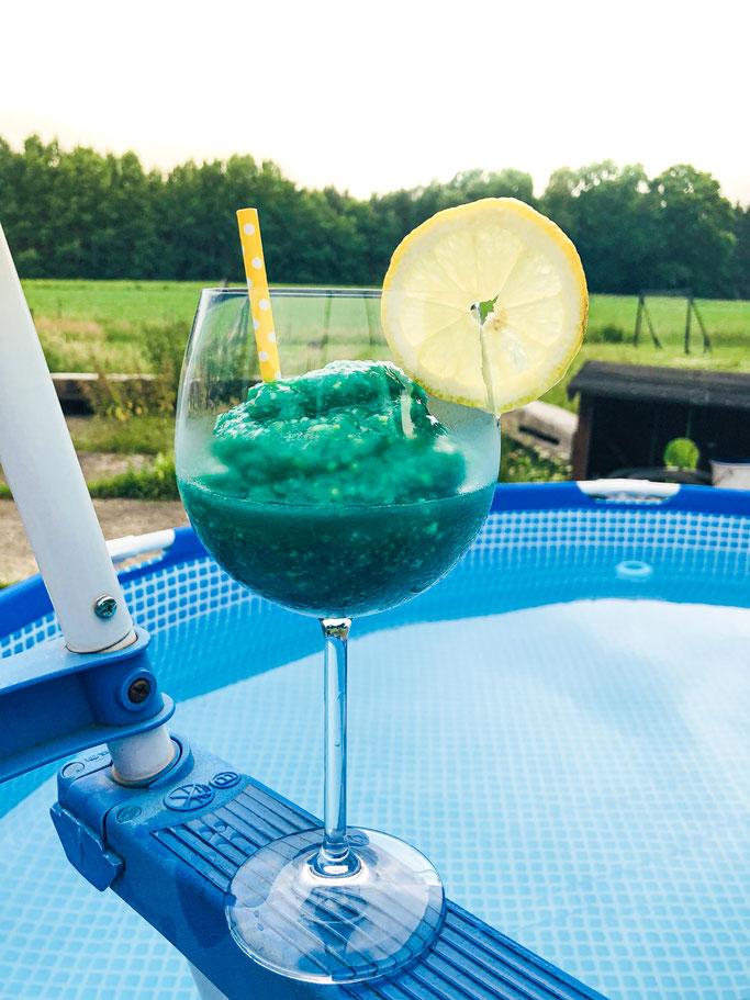 Holiday Slushie mit Mango und Kokos-Rum, Thermomix