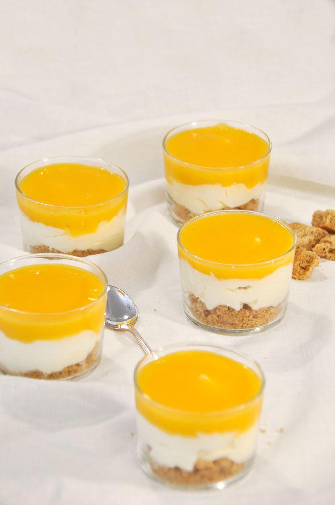 Solero Trifle, Dessertcreme mit Vanille und Maracuja, vegan möglich, aus dem Thermomix