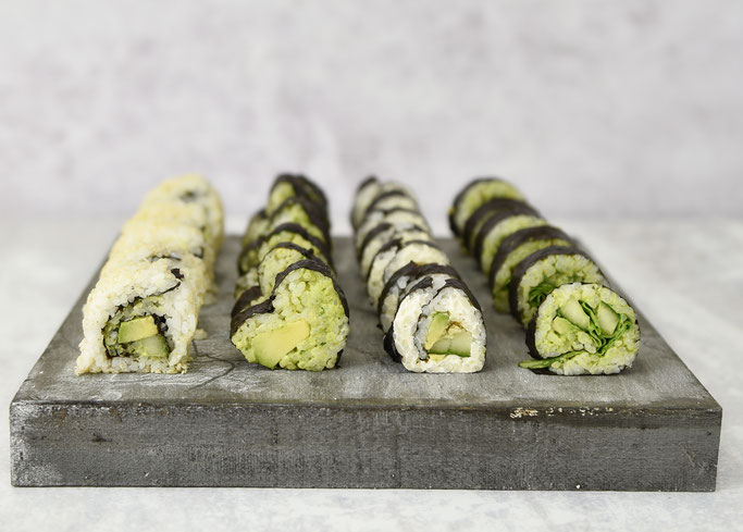 Veggie Sushi selbst gemacht, Reis aus dem Thermomix