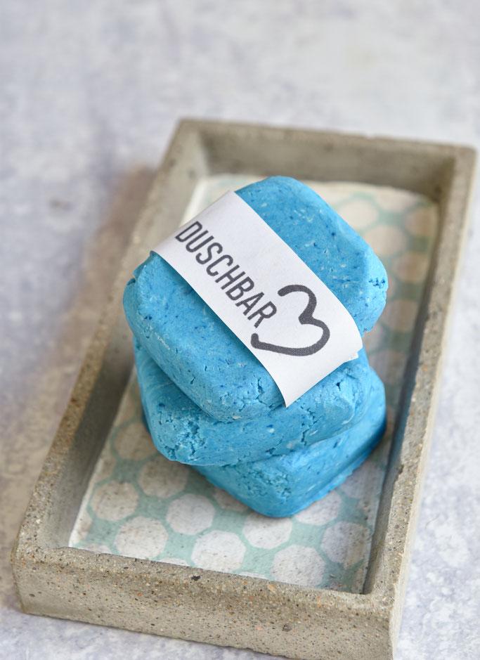 Dusch Bar selbst gemacht, statt Seife, wie Shampoo Bar nur für den Körper, low waste, Thermomix