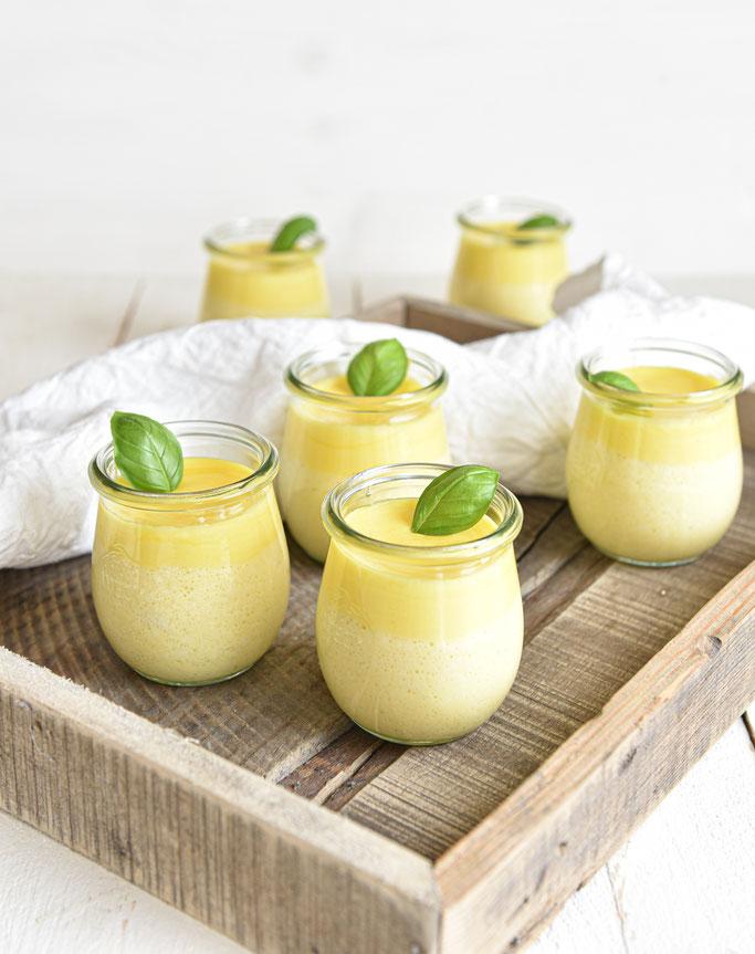 Welfenspeise mit Weinschaum oder Orangenschaum, Dessert, Klassiker, Thermomix