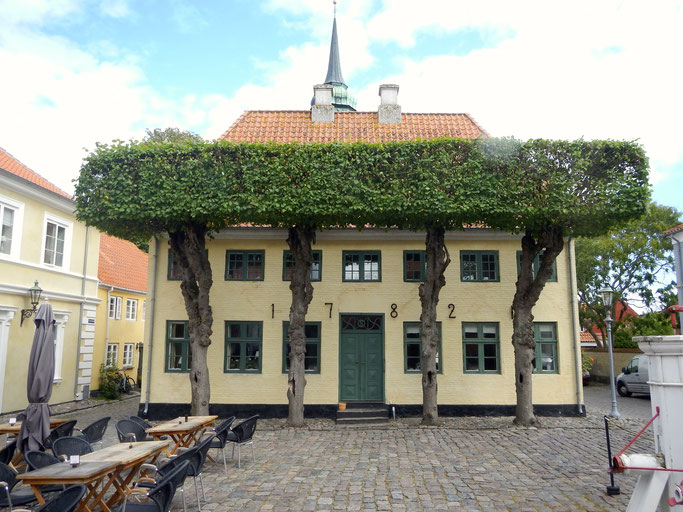 Haus am Marktplatz in Ærøskøbing
