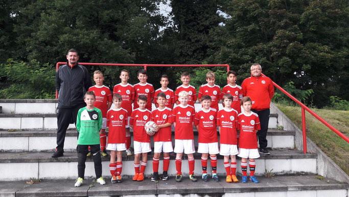 Mannschaft Saison 2017/2018