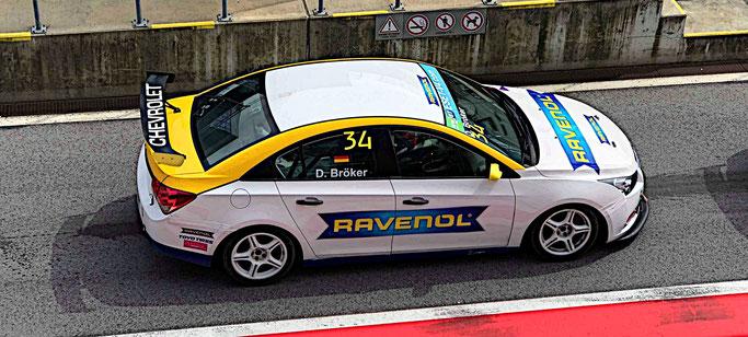 Chevrolet Cruze Eurocup 2019 Rennfahrer Dennis Bröker Technik