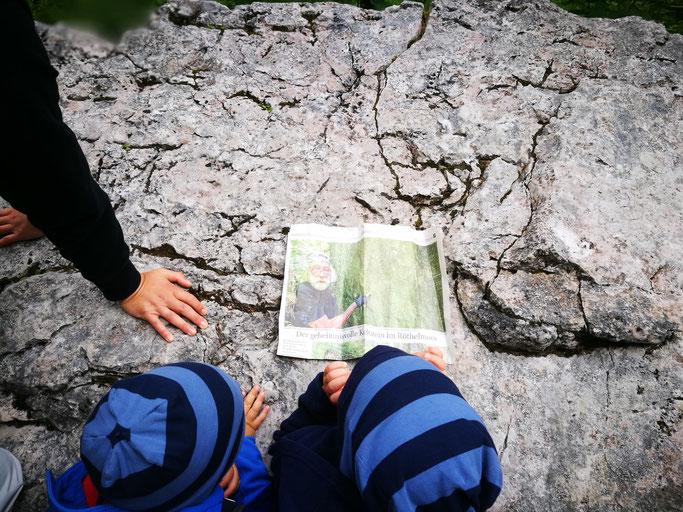 Ebenso geheimnisvoll wie der Felsen: Der mystische Schwenkmeier Willi
