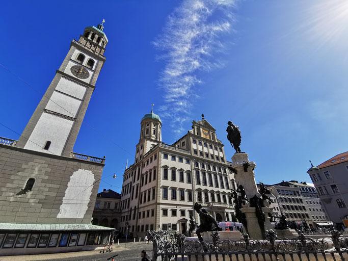 Augsburg Rathaus Perlachturm