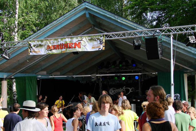 Talentschmiede und große Bühne der Chiemgauer Musikszene: Im Grünen Festival