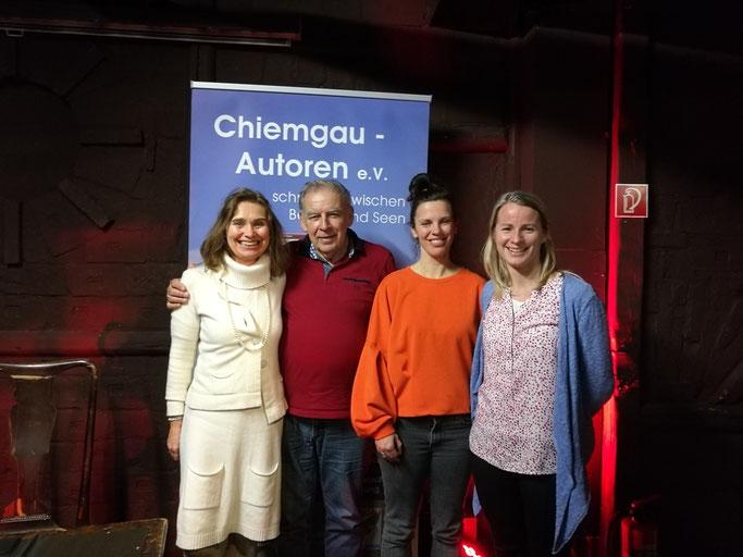 Lesen nach Los der Chiemgau-Autoren im Studio 16 Traunstein