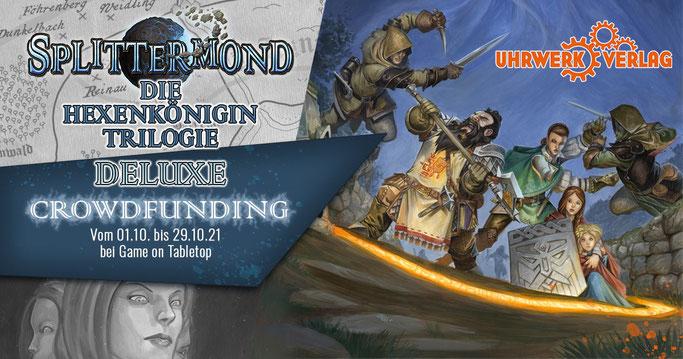 Splittermond: Die Hexenkönigin Trilogie Deluxe - Crowdfunding