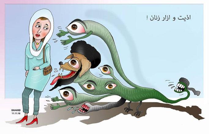 کارتون از عتیق الله شاهد