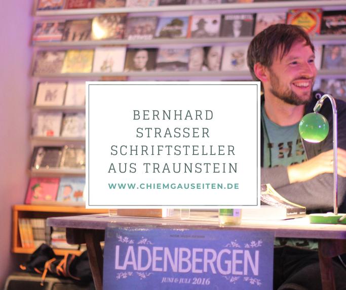 Bernhard Straßer Autor Chiemgau