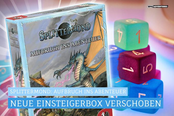 Splittermond: Einsteigerbox Neuauflage 2021